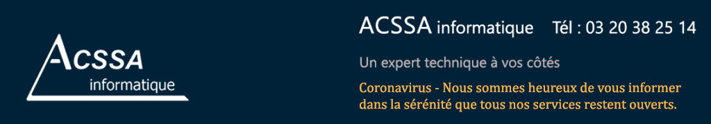 ACSSA informatique : 03.20.38.25.14